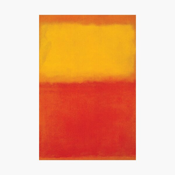 Mark Rothko | Orange and Yellow Photographic Print
