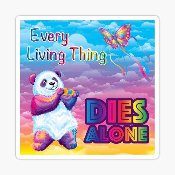 Lisa frank meme edgy Sticker