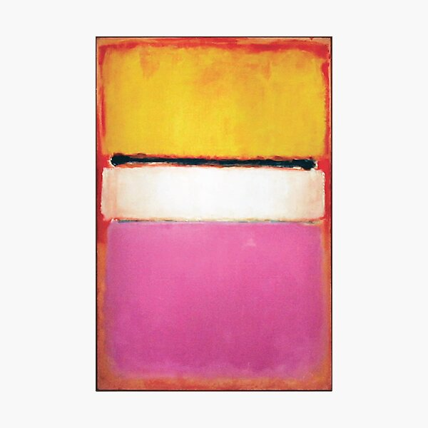Mark Rothko | White Center (Yellow, Pink and Lavender on Rose) Photographic Print