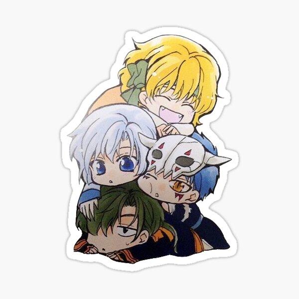 akatsuki no yona Sticker