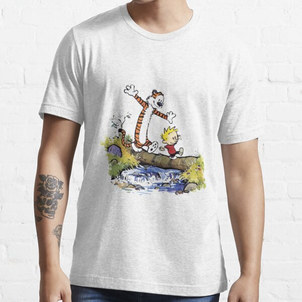 funny calvin and hobbes Essential T-Shirt