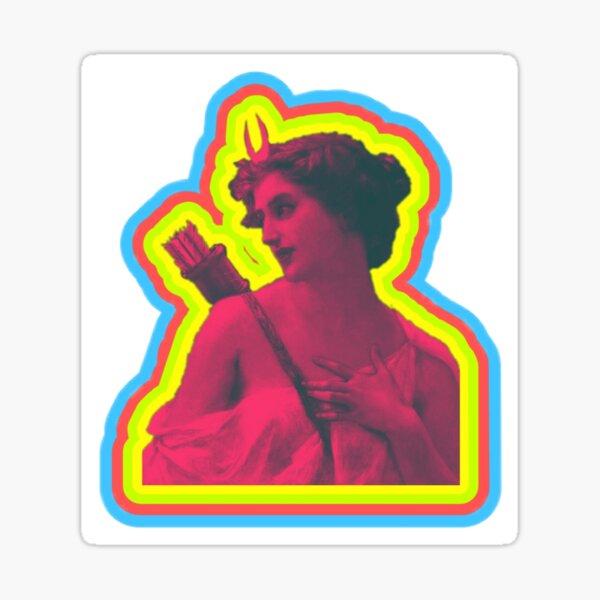 Popart Diana the Huntress Sticker