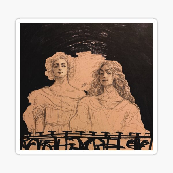 Apollo and Dionysus Sticker
