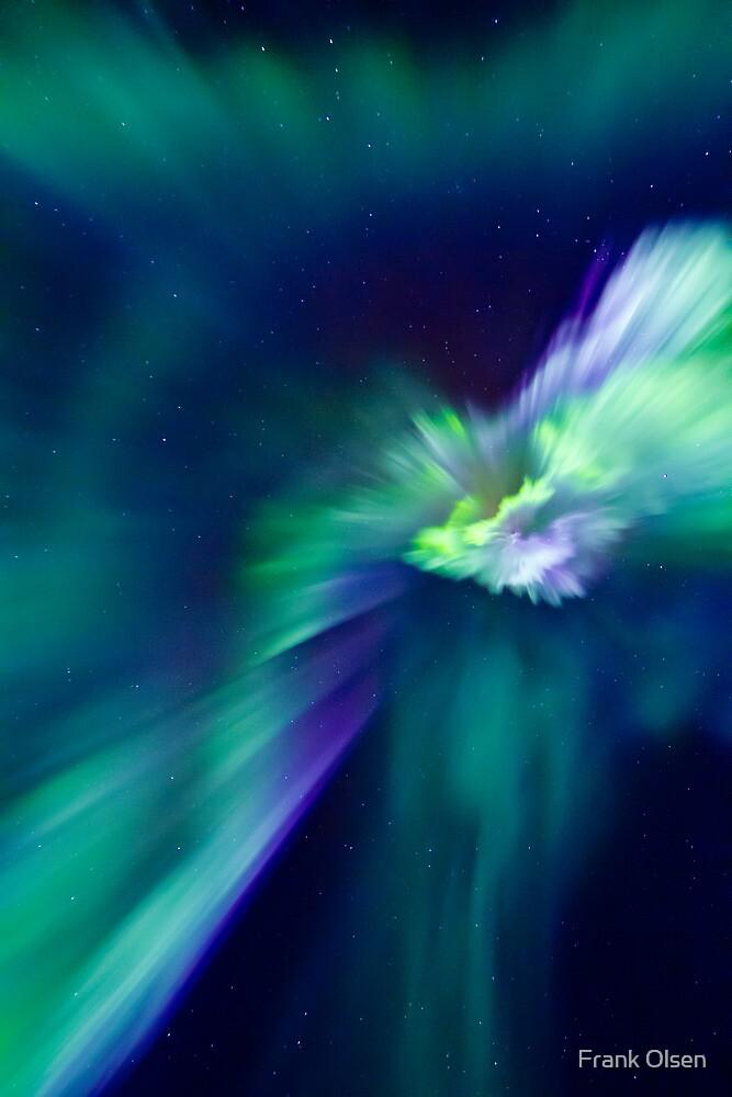 Aurora Borealis corona by Frank Olsen