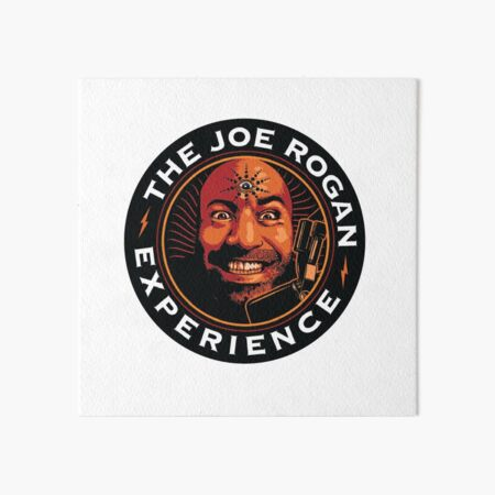 JRE Joe Rogan Experience Podcast Logo Art Board Print