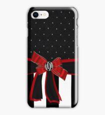 Black White & Red Ribbon Bow Rhinestones Iphone or Ipod case iPhone Case/Skin