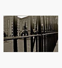 Cast Iron Photographic Print