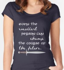 Even The Smallest Person Women's Fitted Scoop T-Shirt