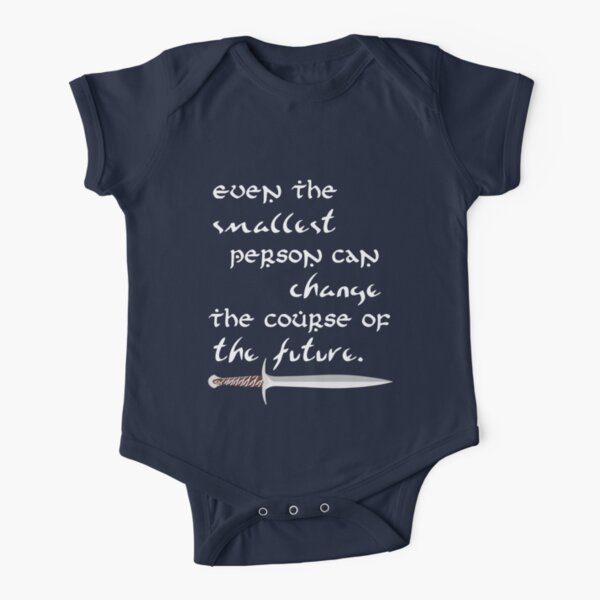 Even The Smallest Person Short Sleeve Baby One-Piece