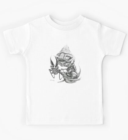Seahorse and Rider - Pencil Kids Clothes