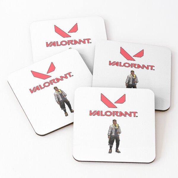 VALORANT Phoenix Coasters (Set of 4)