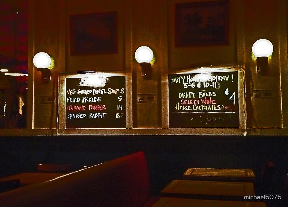 Late night menu by michael6076