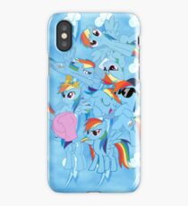 Rainbow Dashed iPhone Case iPhone Case/Skin
