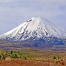 Mt Ngauruhoe by Graeme  Hyde