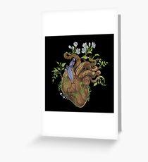 Heart - Wood Greeting Card