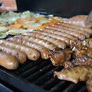 the sausage turner by Anna  Goodhind