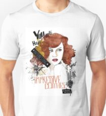 Vivienne Westwood Fashion Quote  T-Shirt