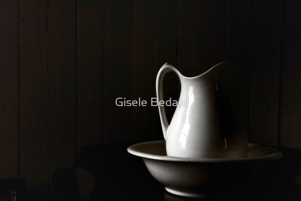 Simply white... by Gisele Bedard