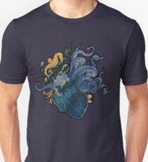 Heart - Ocean Unisex T-Shirt