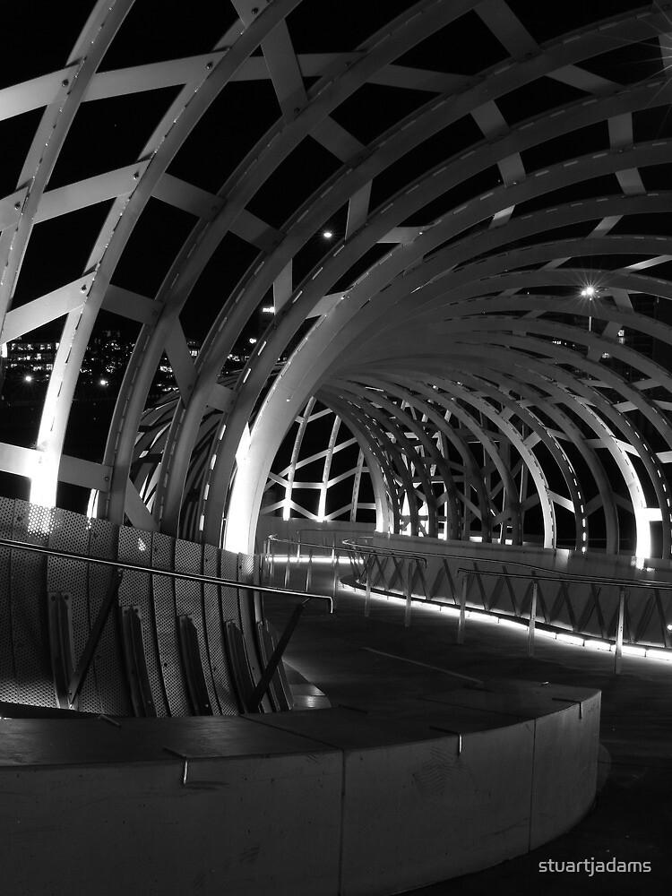 webb bridge by night by stuartjadams