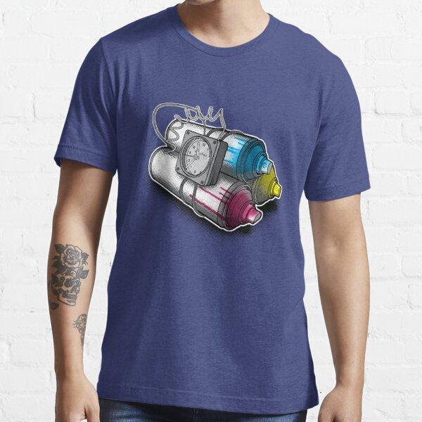 Graffiti Bombardierung Essential T-Shirt