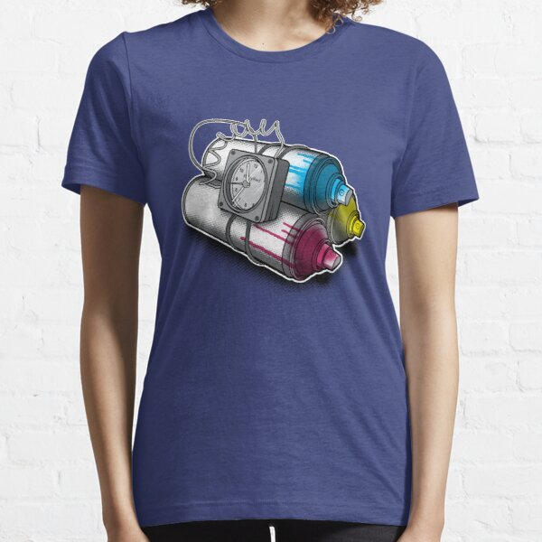 Graffiti Bombing Essential T-Shirt