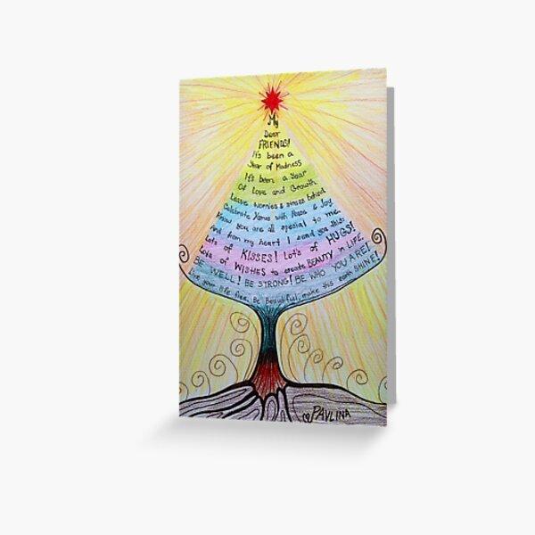 Christmas poem  Greeting Card