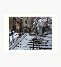 Steps to St Peter Mancroft Art Print