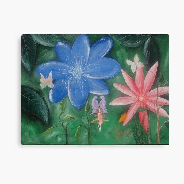 Fairie forest Canvas Print