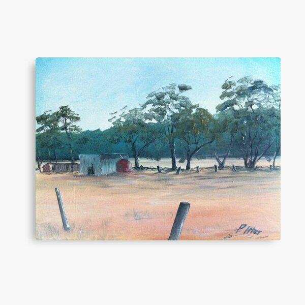 Australian Land Canvas Print