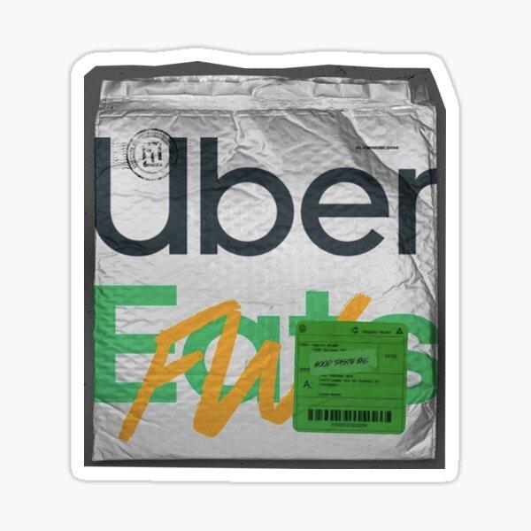 Uber eats sachet aesthetic Sticker