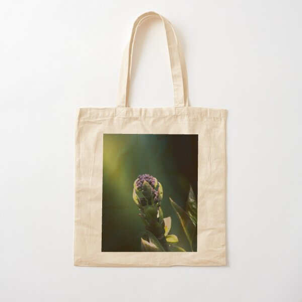 lilac sprout Cotton Tote Bag