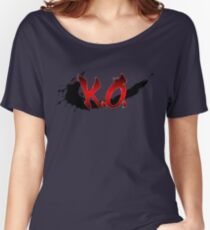 Street Fighter K.O. Women's Relaxed Fit T-Shirt
