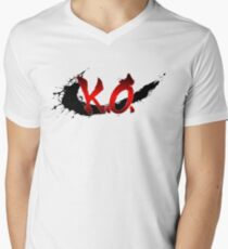 Street Fighter K.O. Men's V-Neck T-Shirt