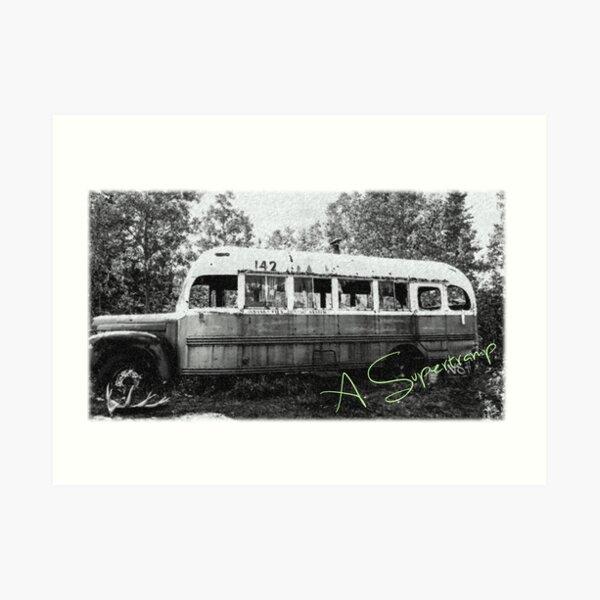 Magic bus Art Print