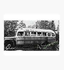 Magischer Bus Fotodruck