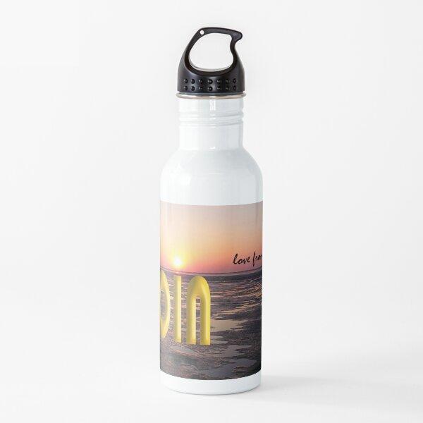 Love from Dangast Fabelhaftes Design von VILLA-KPUNKT. Trinkflasche