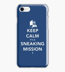 Keep calm Snake! iPhone Case/Skin