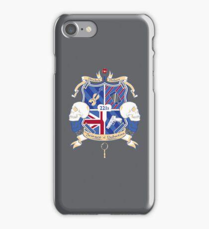 Sherlock's School of Deduction iPhone Case/Skin