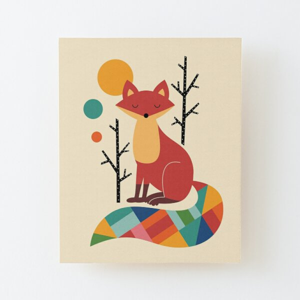 FOX FOXES DRESSED ANIMAL WALL ART PRINT VINTAGE  SHABBY CHIC PICTURE POSTER OLD