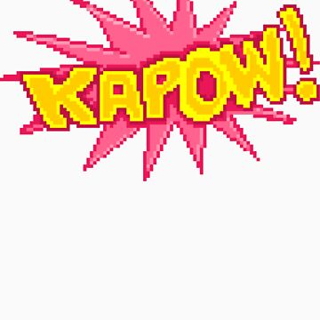 #PIXEL KAPOW! by designatius