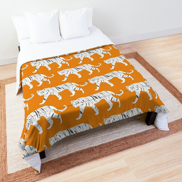 Tiger Print Comforter