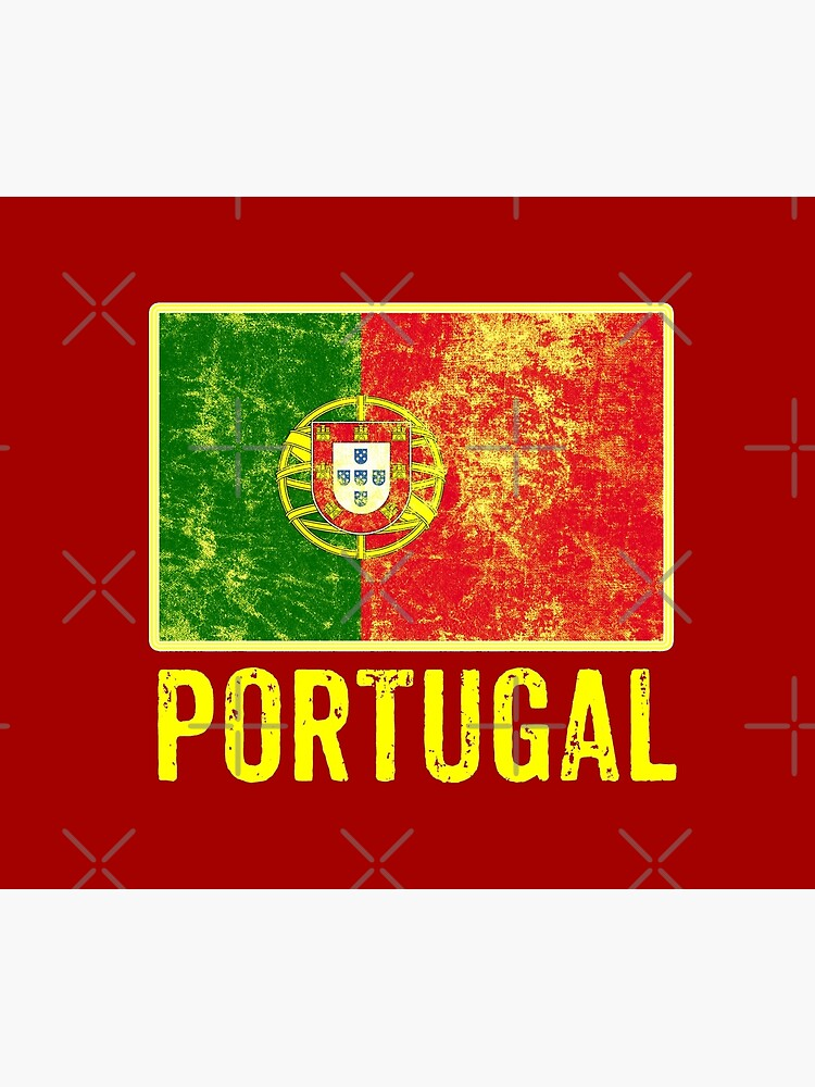 Portugal Flag Love Portuguese Pride Patriot Vintage Distressed Flag Design by thespottydogg