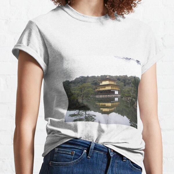 Kinkaku-ji golden temple Kyoto, Japan Classic T-Shirt