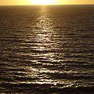 A Silver way to the Sun at a Golden Horizon-  El Camino Argénteo al Sol en un Horizonte Dorado by PtoVallartaMex
