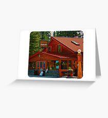 Bragg Creek Trading Post Greeting Card