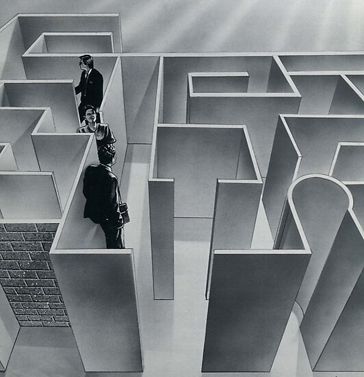 Business Maze by Mike Cressy