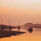 Sunrise at Wells-next-the-Sea by almaalice