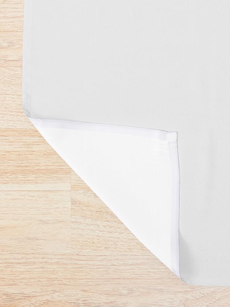 Alternate view of Unicorn Black Grey White Retro Galaxy Unicorn Graphic Logo  Shower Curtain