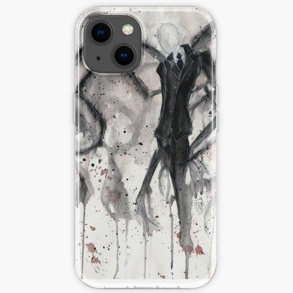 Slenderman II iPhone Soft Case